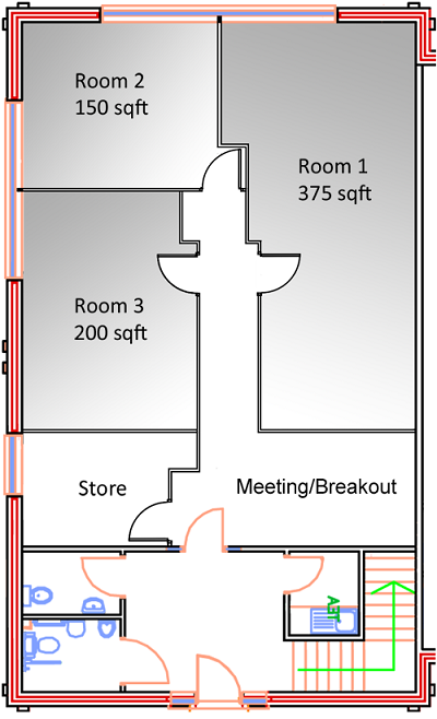 Flexiblease Suites - Floorplan